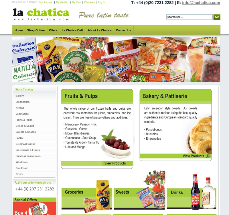 Lachatica Online Store