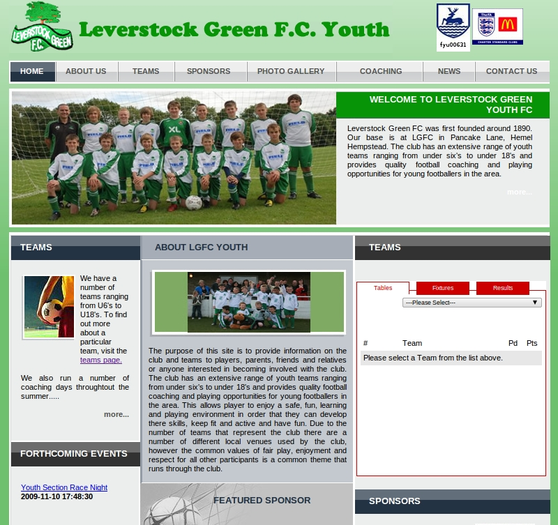 Leverstock Green FC Youth