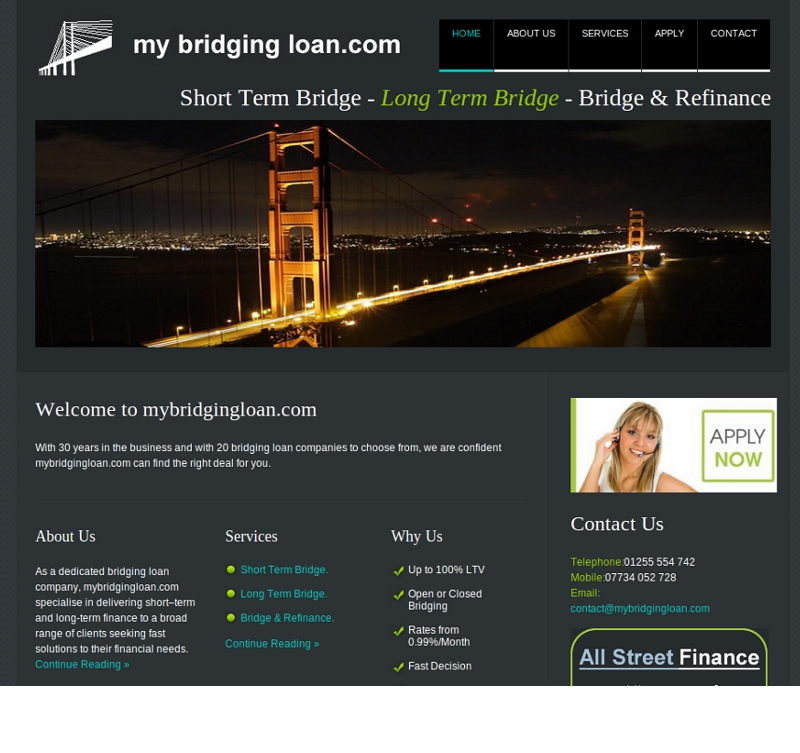 My Bridging Loan